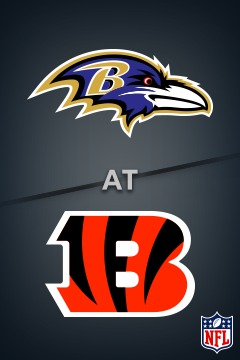 poster for Ravens @ Bengals