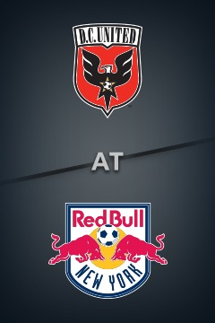 poster for D.C. United @ Red Bulls
