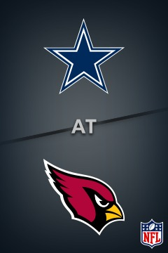 poster for Cowboys @ Cardinals