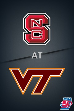 poster for North Carolina State @ Virginia Tech