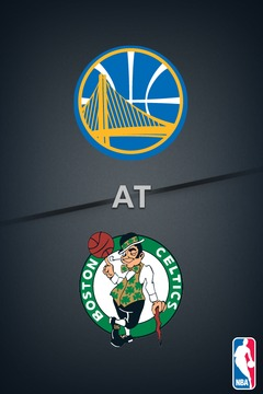 poster for Warriors @ Celtics