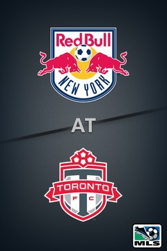 poster for Red Bulls @ Toronto FC