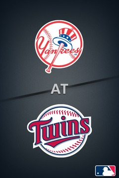 poster for Yankees @ Twins (Twins Broadcast)