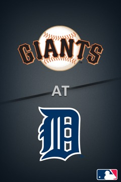 Giants @ Tigers