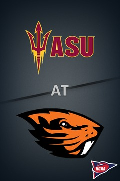 poster for Arizona State @ Oregon State