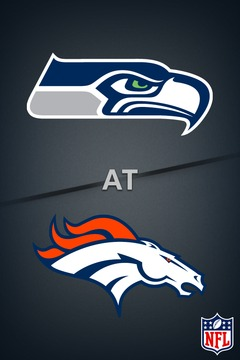 poster for Seahawks @ Broncos