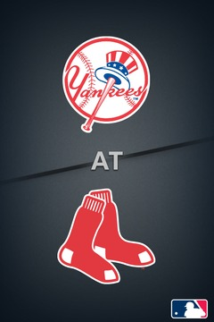 poster for Yankees @ Red Sox