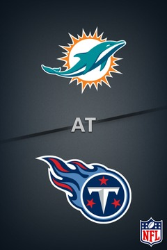 poster for Dolphins @ Titans