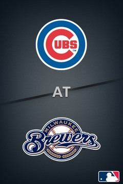 poster for Cubs @ Brewers