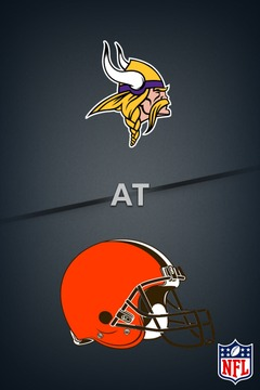 poster for Vikings @ Browns